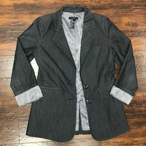 LIGHT Dark Grey Blazer